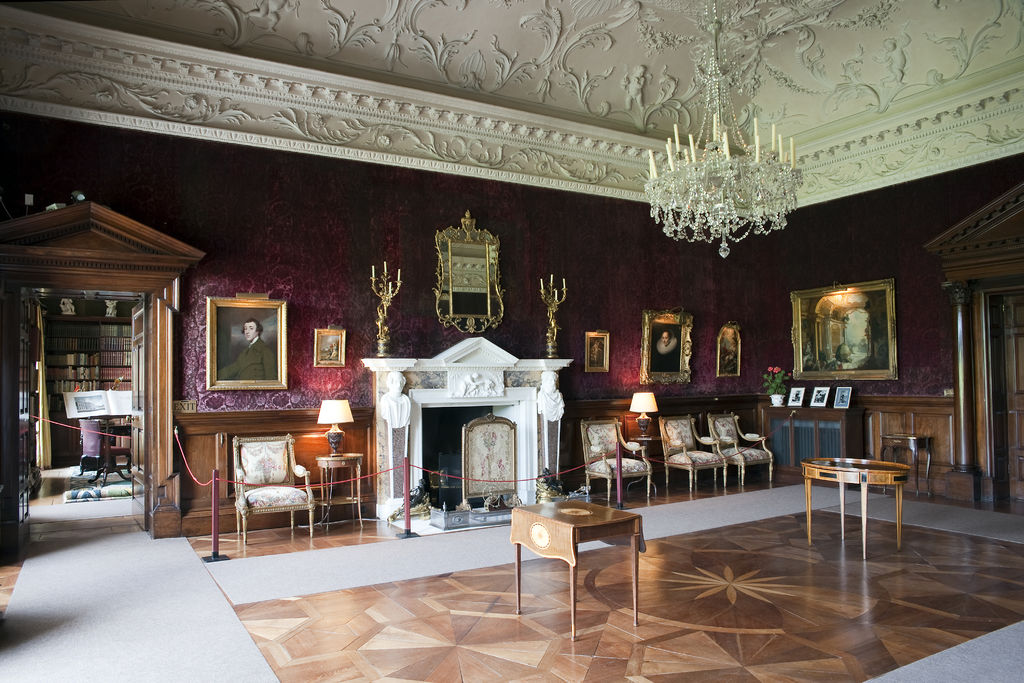 russborough house Russborough house is no stranger to art thefts the first major robbery happened  in 1974, when an ira gang, which included british heiress dr.