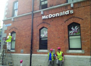 McDonalds, Temple Bar Square