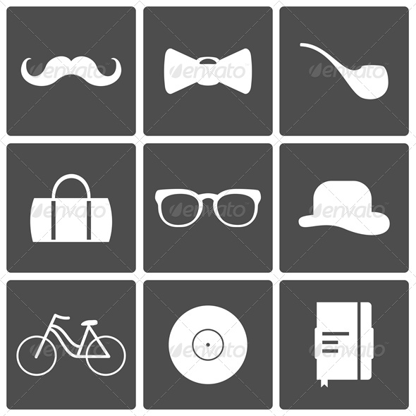 Hipster Icons _pv