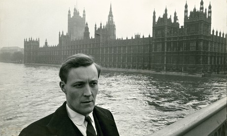 Tony Benn, pictured by the Houses of Parliament in March 1961
