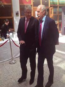 Denis O'Brien and Dermot Desmond