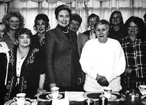 Clinton, Women, Tea