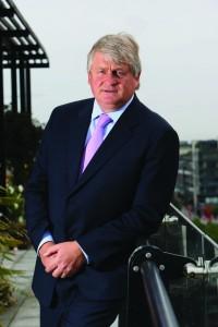 Business man Denis O'Brien. 24/7/2009. Picture by Fergal Phillips.