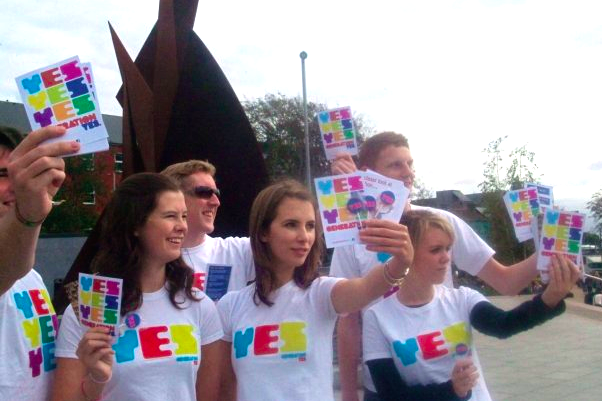 Generation Yes campaign in Galway in 2009.