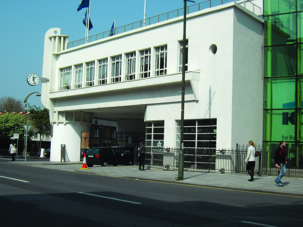 The Art Deco-style Archer's Garage, Sandwith Street, Dublin.