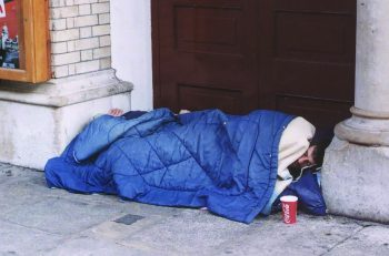 Sleeping rough